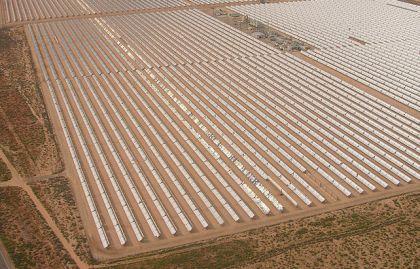 Centrale solaire photovoltaïque en Californie