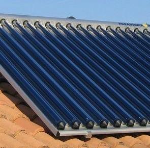 Panneau solaire thermique tubulaire