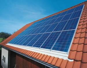 Un panneau photovoltaïque