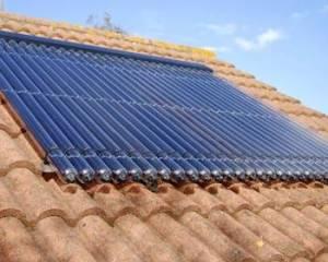 Un panneau solaire thermique