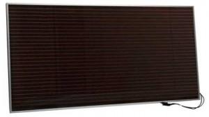 Panneau solaire au silicium amorphe