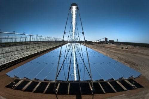 De l'énergie solaire thermodynamique avec le Linéaire Fresnel