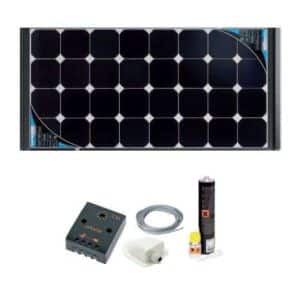 Kit panneaux solaires Black Cristal de Vechline pour camping-car