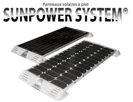 Panneaux solaires Sunpower System pour camping-car