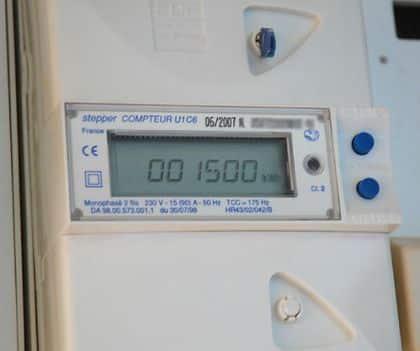 Affichage sur un onduleur photovoltaïque