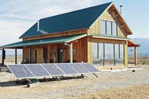 Panneaux solaires au sol montage par Bâti-dépôt