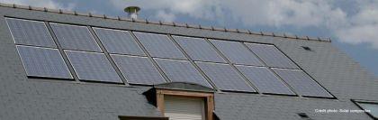 Panneaux solaires Auversun intégrés