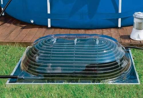 Un chauffage solaire en dôme