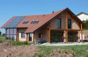 Une maison solaire