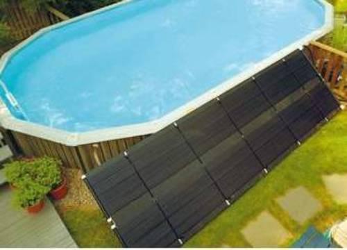 Un panneau solaire thermique pour piscine