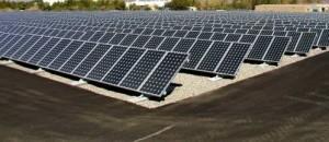 Des panneaux solaires photovoltaïques