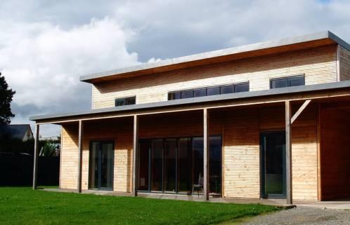 Un exemple de maison bioclimatique