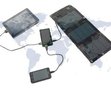 Les chargeurs solaires portables