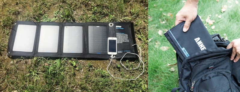 un des chargeurs solaires portables les plus puissants