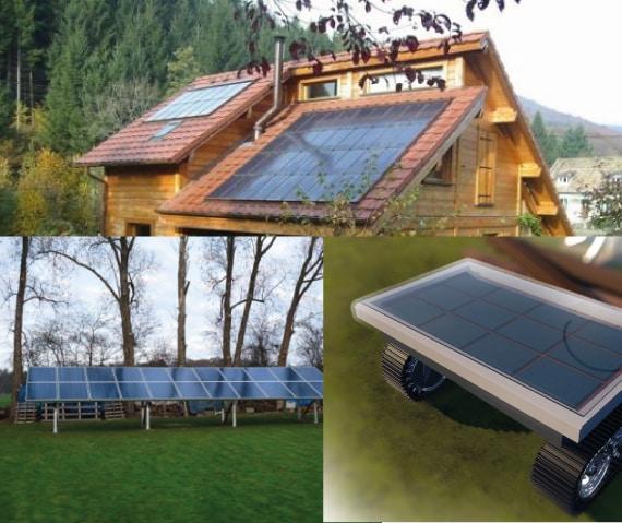 Fabriquer son propre panneau solaire et le monter où l'on veut