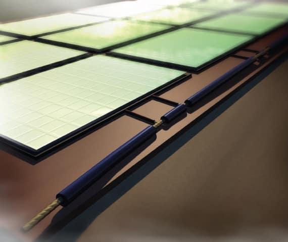Utiliser des câbles bus pour fabriquer son propre panneau solaire