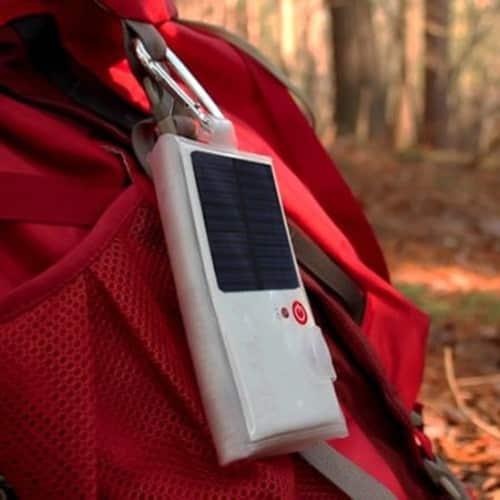 Des lampes solaires faits pour le camping.