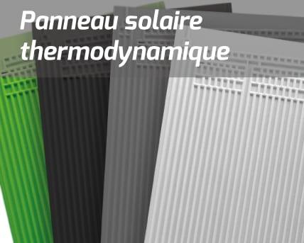 Energie solaire thermodynamique : les panneaux